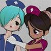 Futanari Nurses [Indigo Blue]