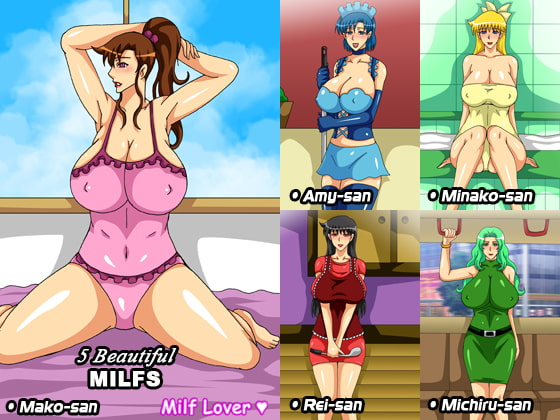 5 Beautiful MILFs!