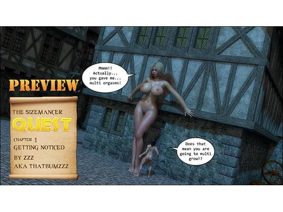 The Sizemancer Quest!