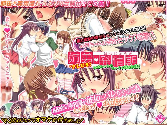 RJ112428 img main 姉弟発情期  お姉ちゃんのセックス強化訓練!