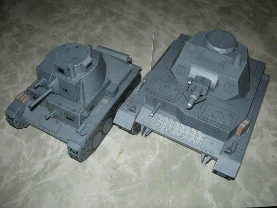 RJ113127 img main IV号&38(t)戦車セット(デフォルメVer.)