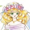 乙女のぬりえ・8「ウエディングドレス・2」