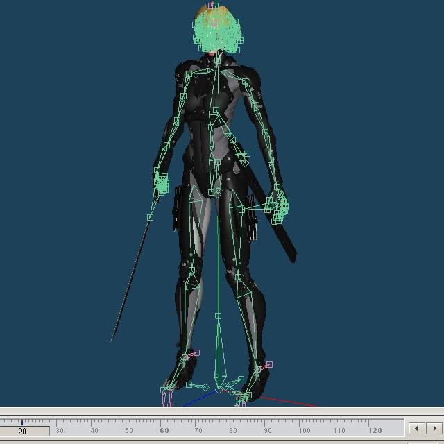 サイボーグニンジャ(PAD) ソースデータ (黒ゆ) DLsite提供:同人ゲーム – ツール・アクセサリ