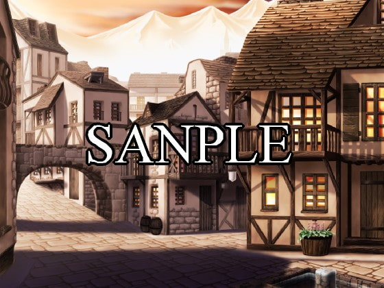 Scenery Vol.1 [Fantasy / Village] [Doujin Game Makers]