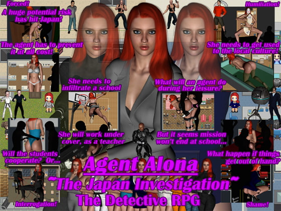 Agent Alona ~The Japan Investigation~!