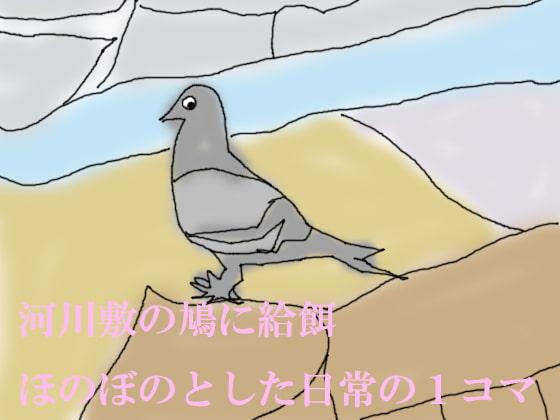 RJ137548 img main RJ137548 [140708][ペンシルモディ]ワンコイン小説 河川敷の鳩に給餌 ほのぼのとした日常の1コマ
