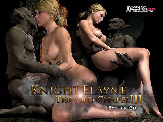 騎士のイレーヌ:旧きチャペルIII(作者:HIBBLI3D)