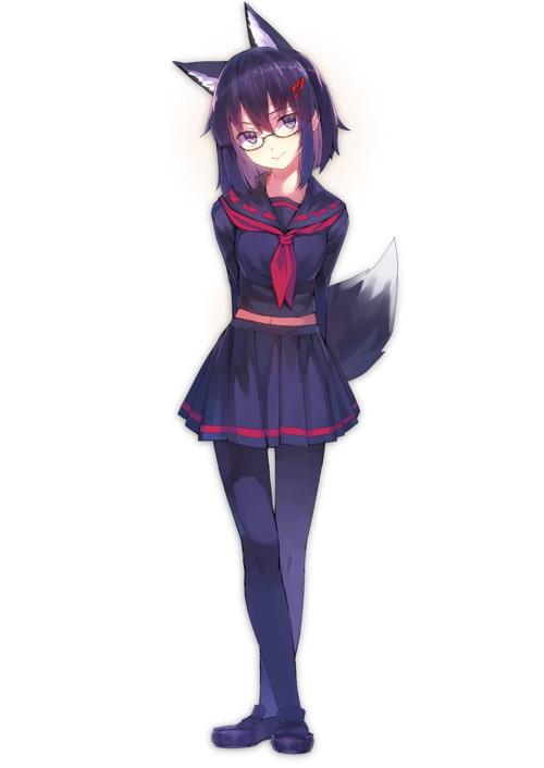 えっちでかわいくてさびしがりやな妖狐