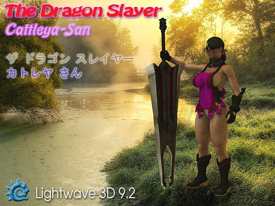 The Dragon Slayer: Cattleya-San (Comes with Rig) For LightWave 3D 9.2