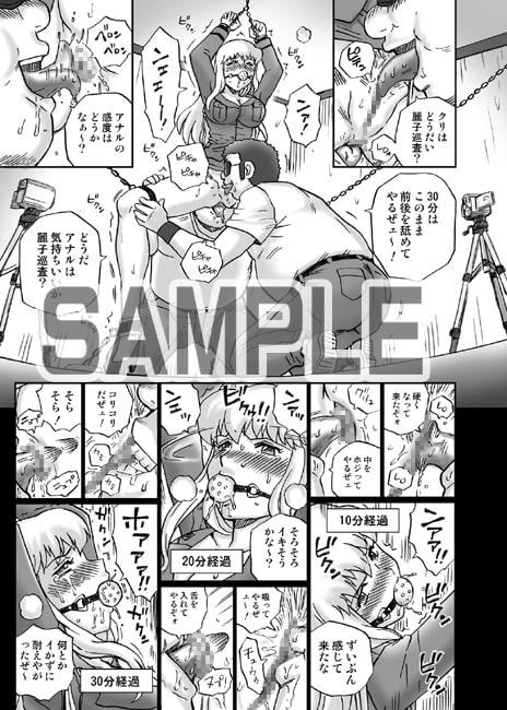 IRIE YAMAZAKI 「こ○亀 秋○麗子」アナル&スカトロ作品集Ver.2