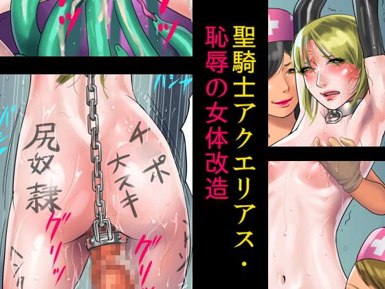 【ポイント10%還元】聖騎士アクエリアス・恥辱の女体改造