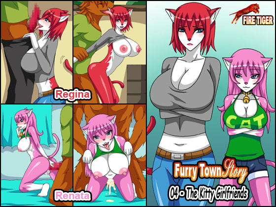 Furry Town Story 04 - The Kitty Girlfriends!