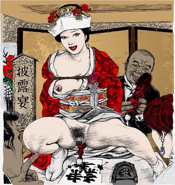 羞弄の淫鎖 囚われの社長夫人 蓉子[嬲り絵物語] (夏岡彰の羞恥日記) DLsite提供:同人作品 – ノベル