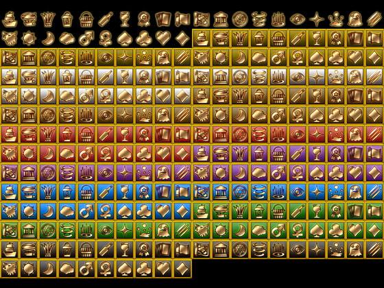 ファンタジーゲーム向けアイコン素材3