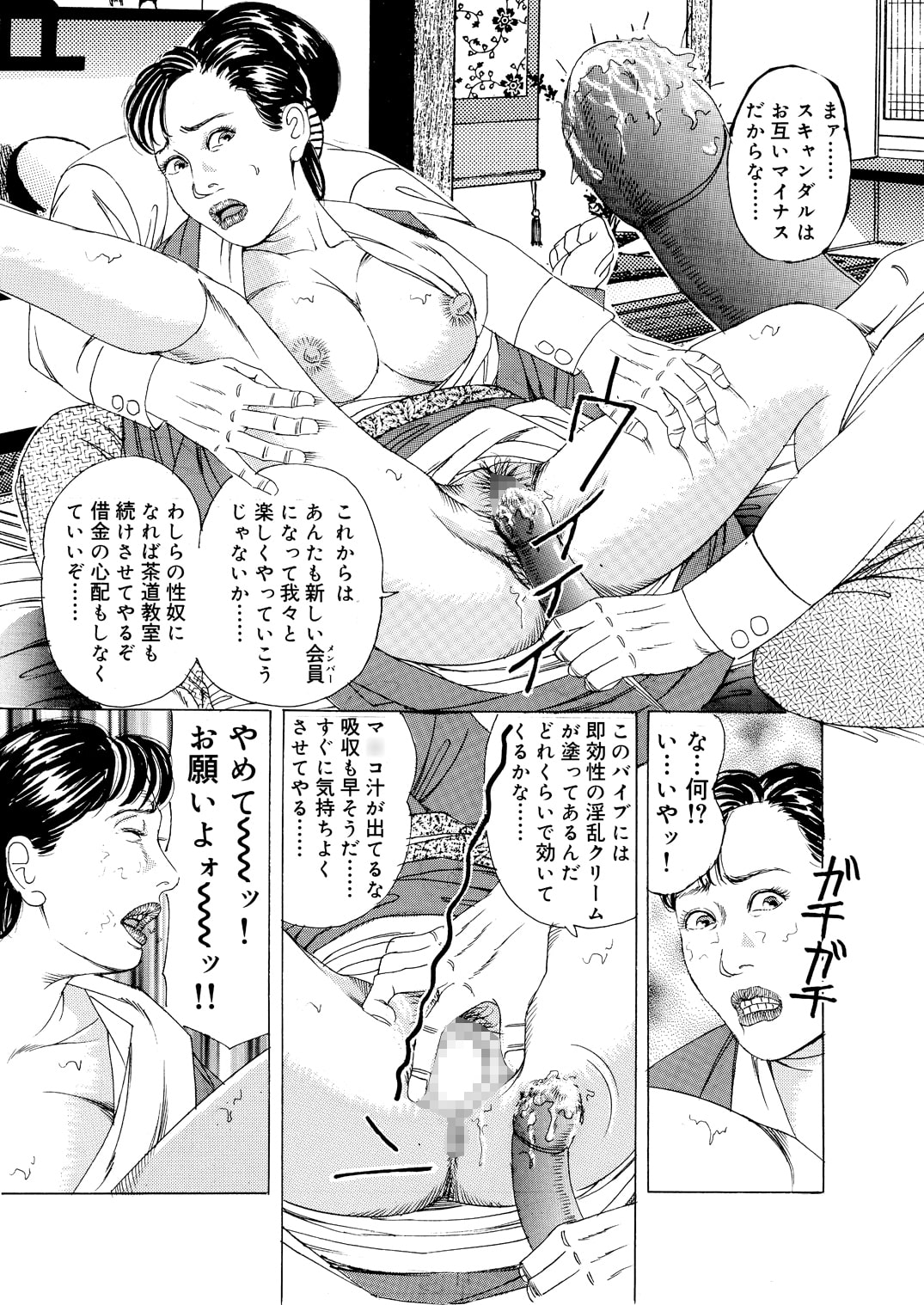 茶道家・真由美の秘肉作法