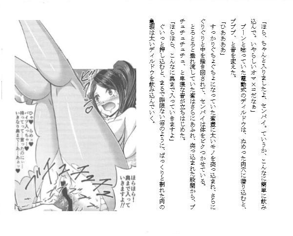 【ノベライズ版】ドSなセンパイじつはドMビッチ
