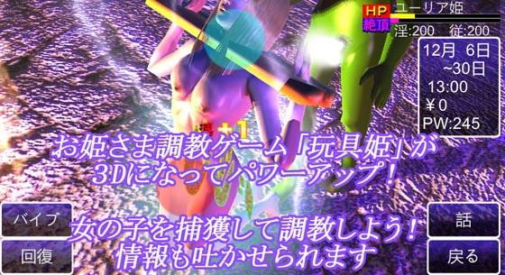 玩具姫3D ー姫だけどメス奴隷ー
