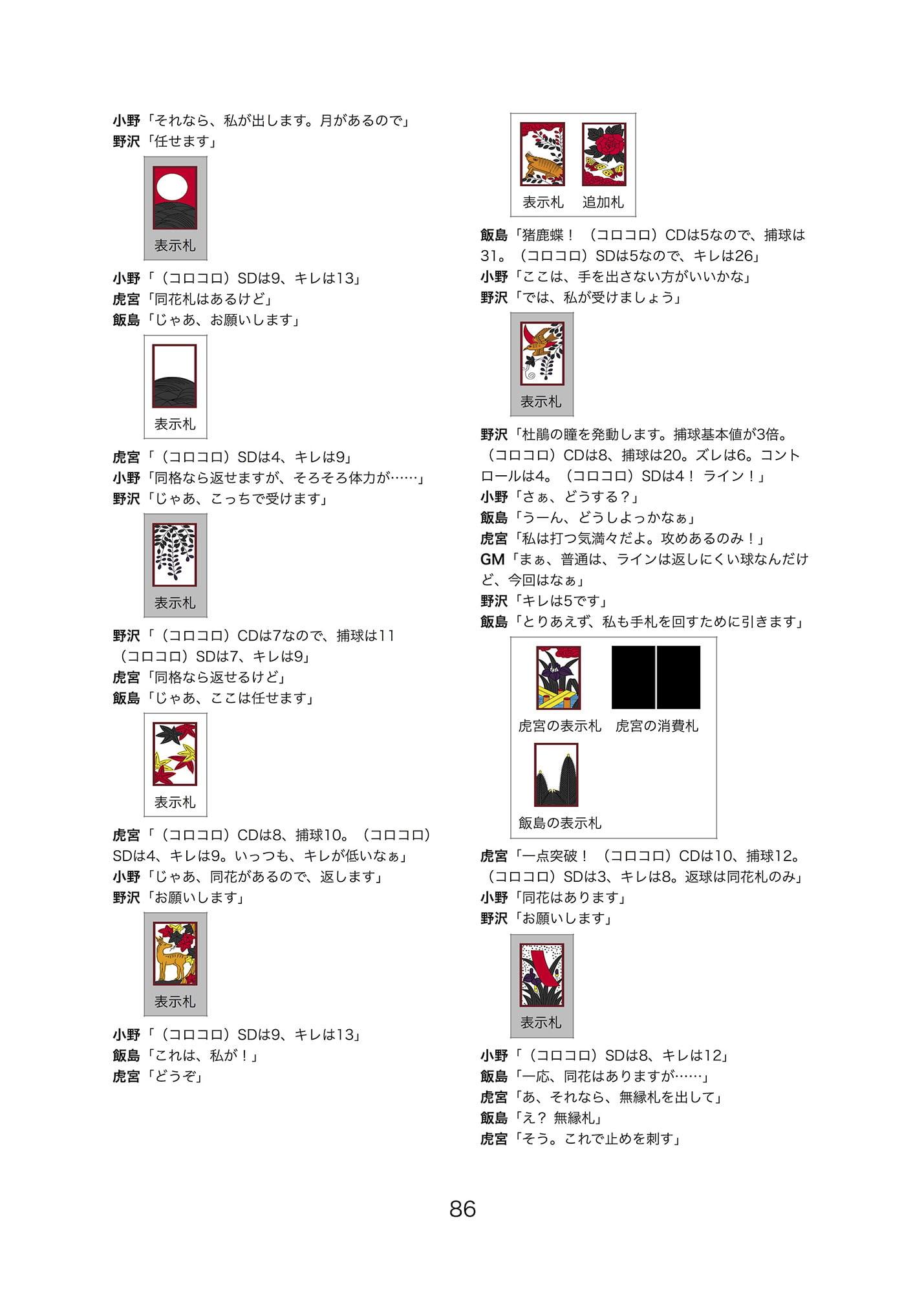 ホトトギス(『花吹雪!』シナリオ&リプレイ集)