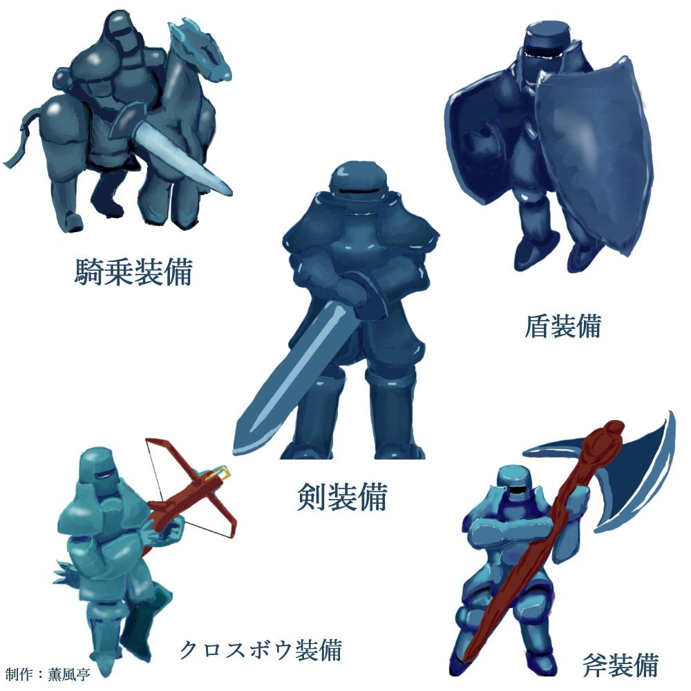 DLsite専売画像コレクションvol1 甲冑の戦士セット