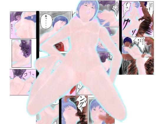 (2視点同時進行的漫画)ねちっこ紫幹部と激ハード巨人VS魔界狩人リンネ