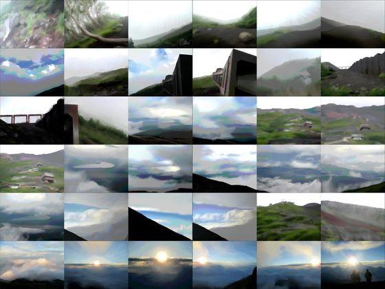 DLsite専売【商業使用OK】山の風景素材集01 富士登山編_水彩画風【加工OK】