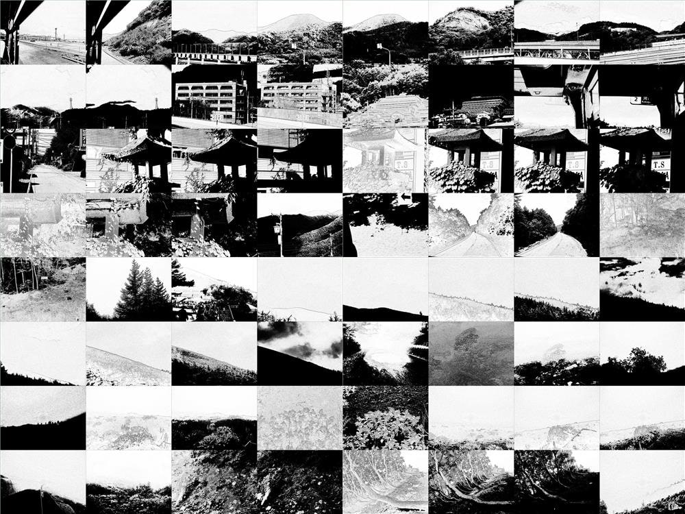 [Commercial Use OK] Mountain Landscapes 02 - Mask/B&W Style Images [Lab Landschaft]