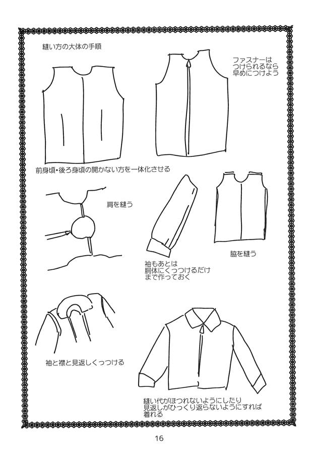 コスプレ衣装制作時の個人的メモ