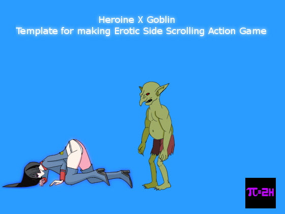 Heroine X Goblin - Template for making Erotic Side Scrolling Action Game!