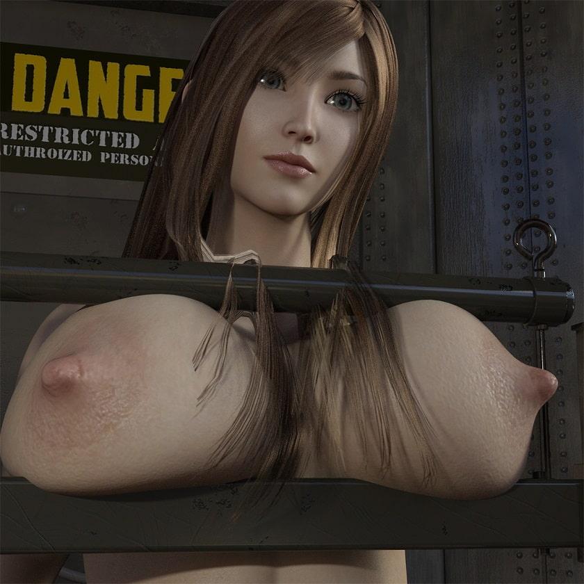 巨乳を挟まれ揉まれ、乳首を引っ張られ、最後は脱糞