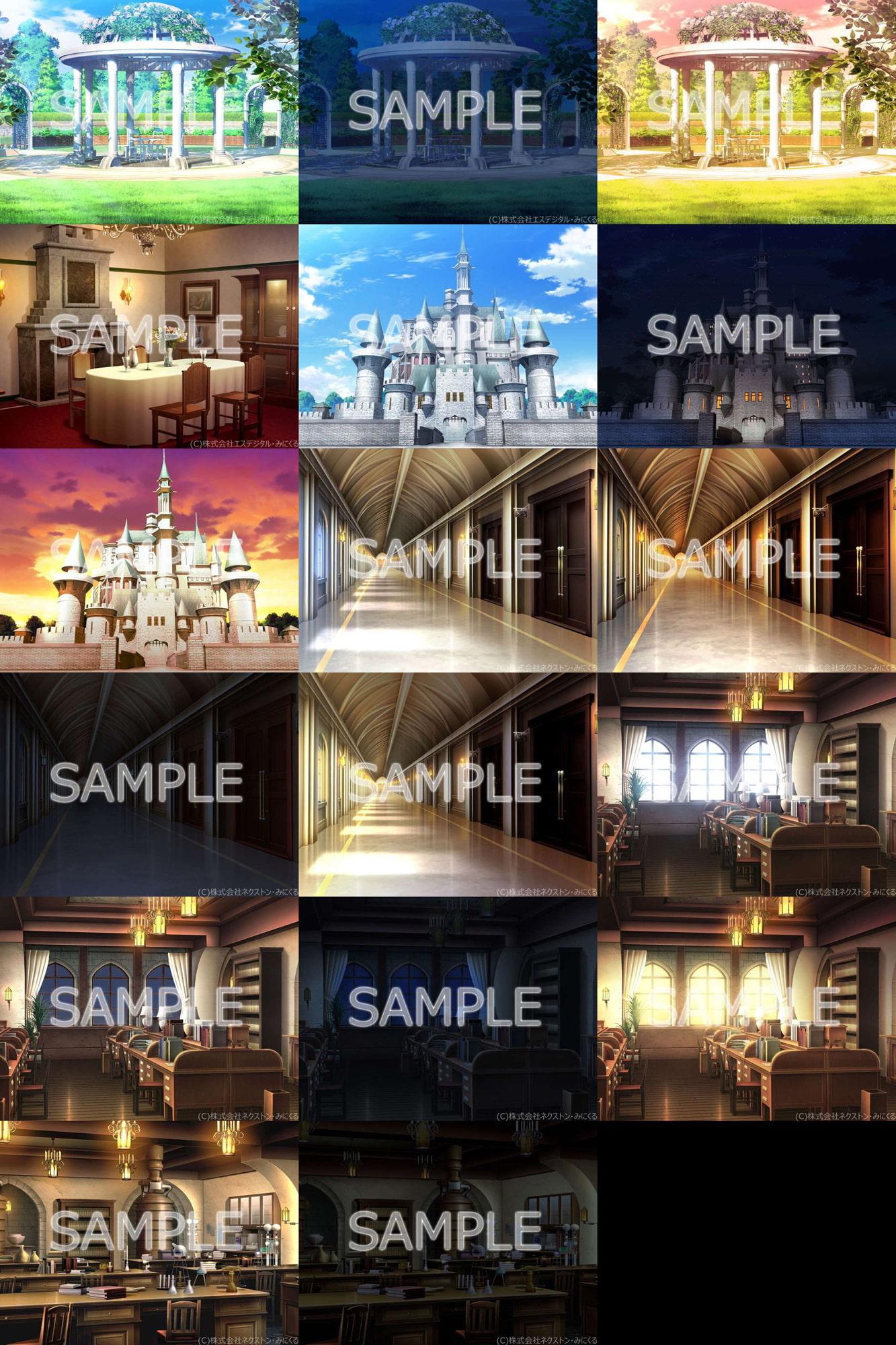 みにくる背景CG素材集『ファンタジー編』part02