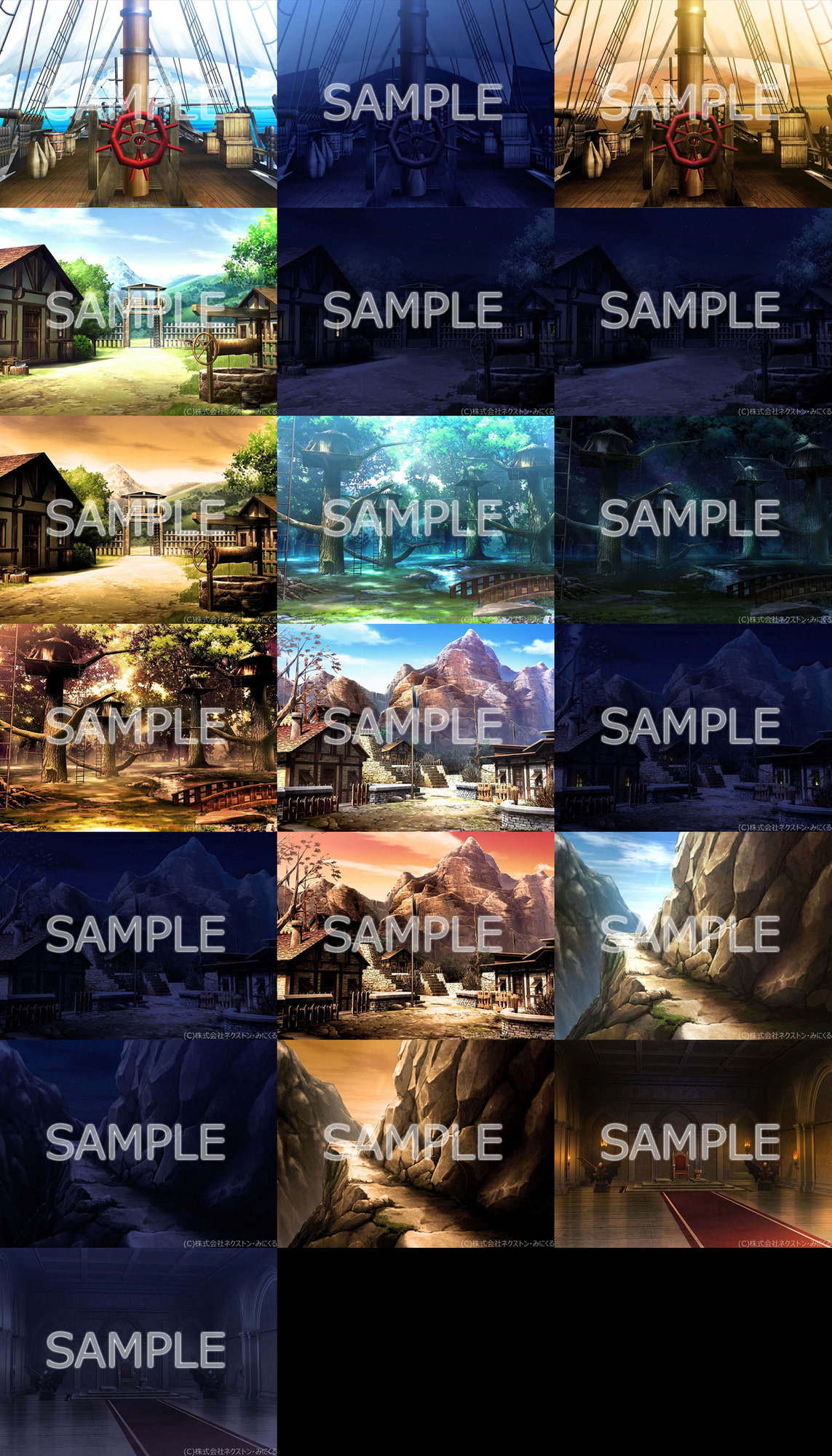 "Minikle's Background CG Material Collection ""Fantasy"" part03 [minikle]"