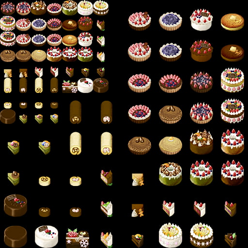 DLsite専売ケーキ組み立てキット
