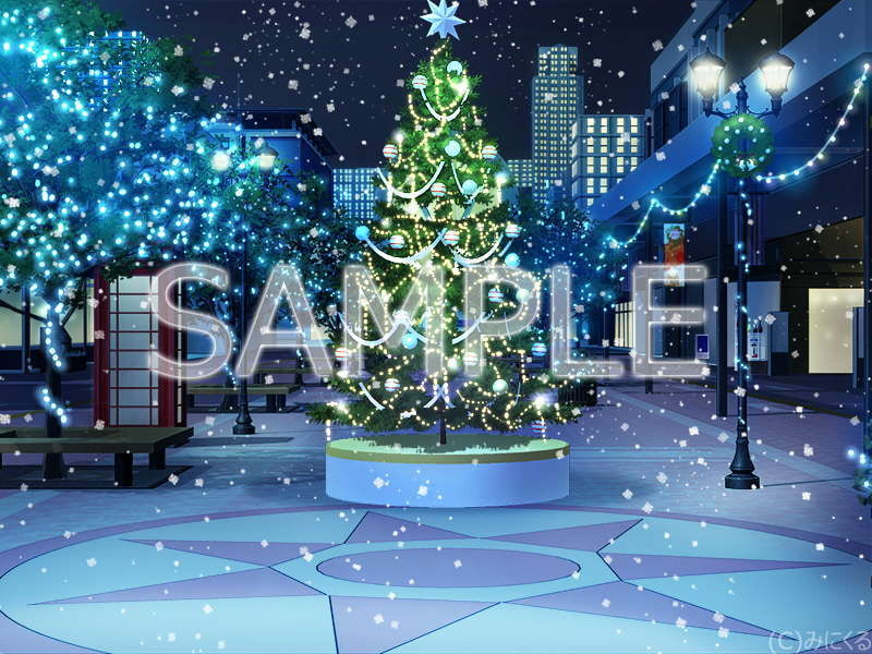"Minikle's Background CG Material Collection ""Christmas"" Special [minikle]"