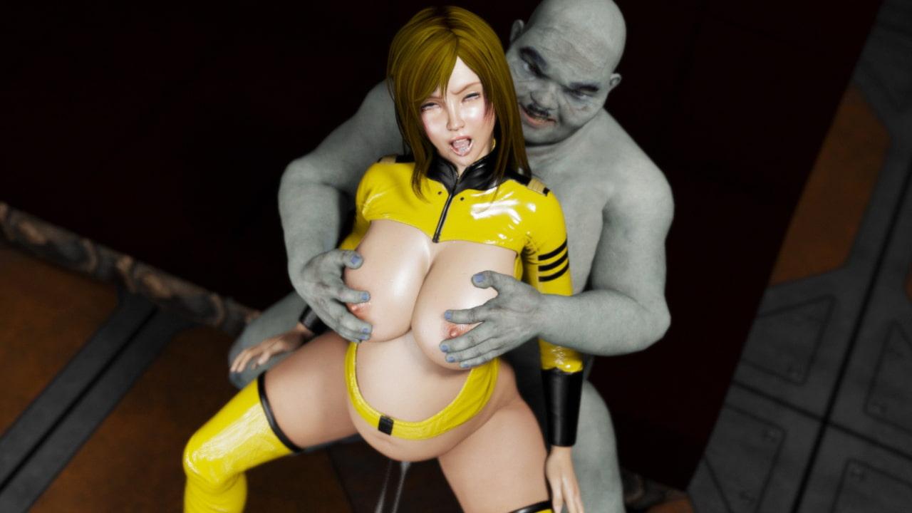 宇宙奴隷艦アマド 異種姦孕まされ奴隷・雪