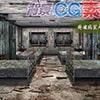 著作権フリー背景CG素材「廃墟の病室大部屋」