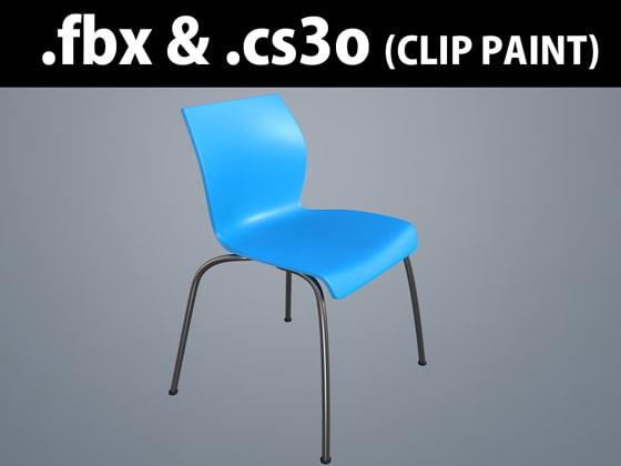 3D素材 会議椅子 MU-C_ 01