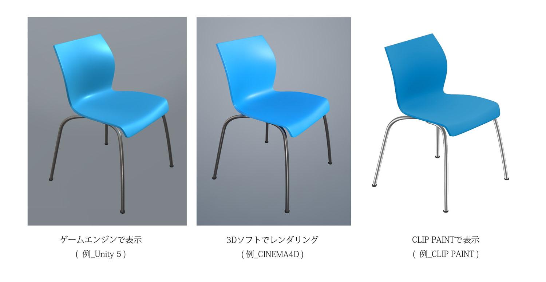 DLsite専売3D素材 会議椅子 MU-C_ 01