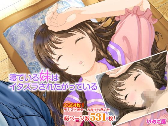 寝ている妹はイタズラされたがっている