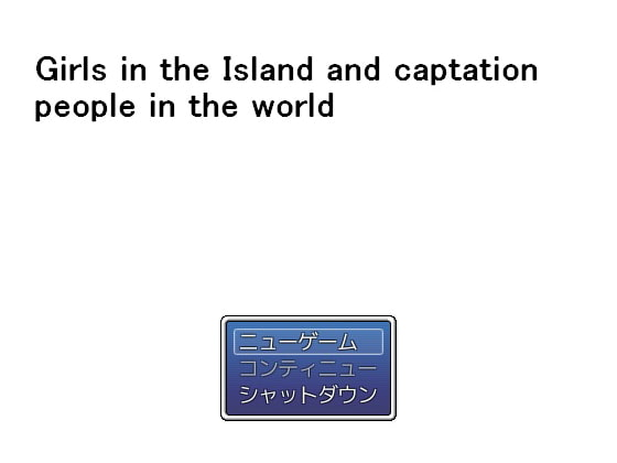 Girls in the Island and captation people in the world