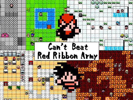 DB - Can't Beat Red Ribbon Army [将軍]
