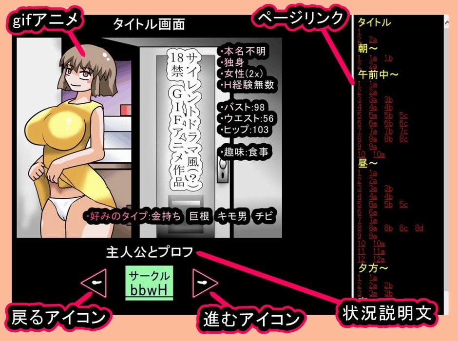 gifアニメ「淫乱茶髪女の日常!」