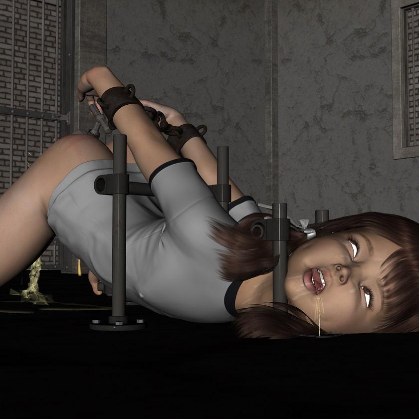 ロ○ータ少女の蛇口調教