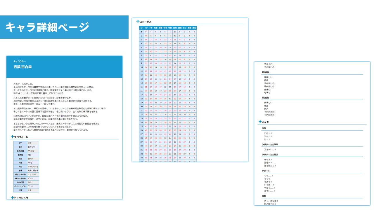 DLsite専売Lily 白き百合の乙女たち Lisblanc 公式ガイド