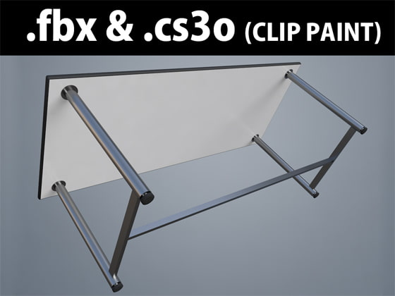 3D Object meeting-table_popular_04_W1800 [Clover]