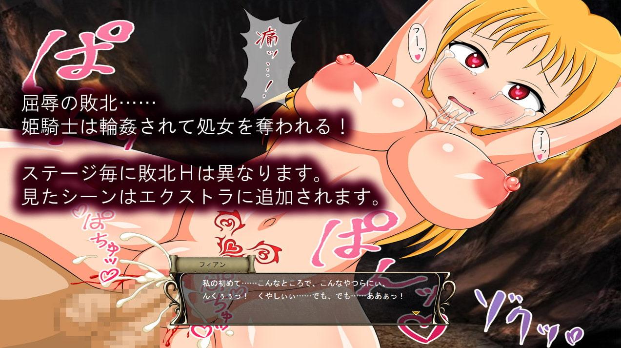 淫紋の姫騎士