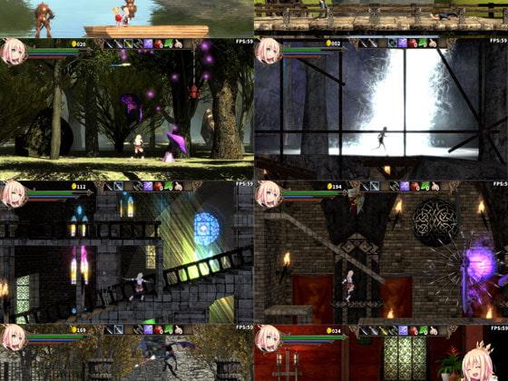 Lord Knight Komplex - Knightess in the Magic Castle [Yamaneko Soft]