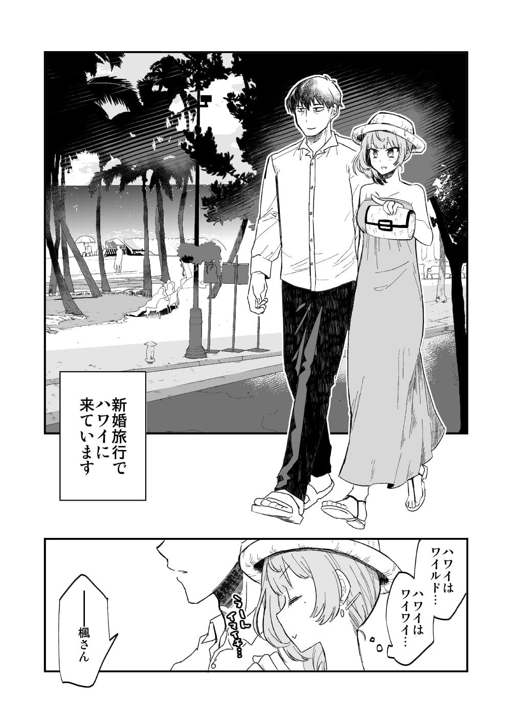 武○Pと楓さんが新婚旅行で子作り解禁Hをする本