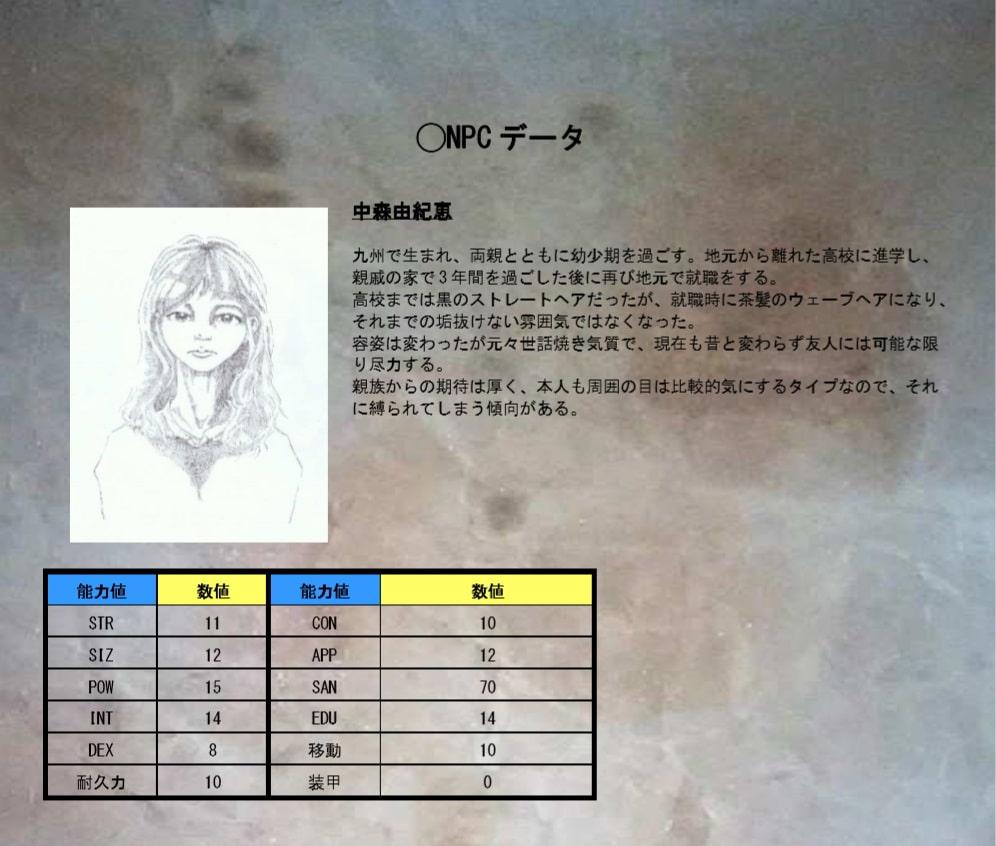 クトゥルフ神話のTRPGオリジナルシナリオ 『e'clipse』