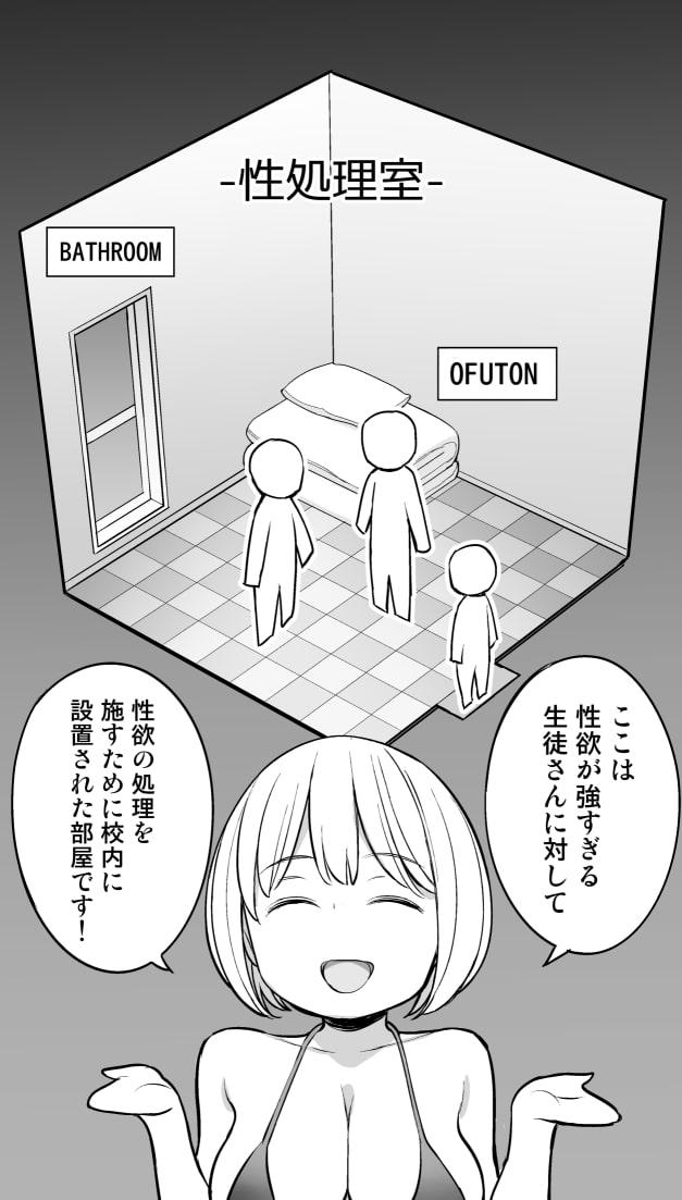 放課後の性処理室