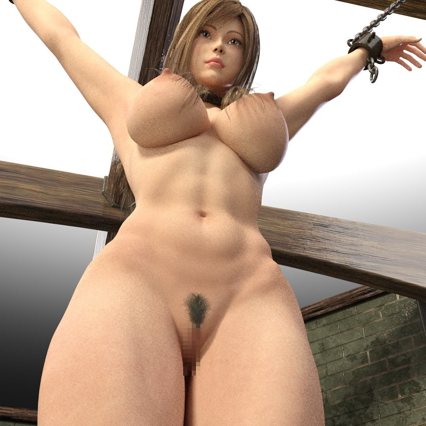 美人母娘の拷問地下室